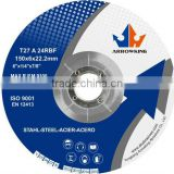 6''(150x6x22mm)T27-Reinforced Resin DC Grinding &Cutting Wheel for Steel/stainless steel