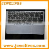 Fashional Colorful Silicone Keyboard Cover for mac air