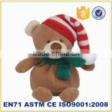 2015 stuff christmas decorations plush toy christmas teddy bear