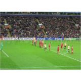 High Resolution Advertising Football Stadium LED Display Screens
