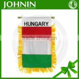 China Made Wholesale Cheap Custom Printed Felt Mini Pennants