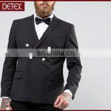 Wholesale Bespoke Double Breasted Suit Men