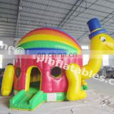 TOP colorful inflatable turtle bouncy,inflatable jumping house