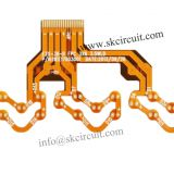 Wireless Usb Flex pcb with board thickness 0.2mm and surface finish Immersion gold , 2 layer in Camera