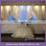 BCK107 wedding backdrop design beautiful curtains made in china