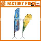 Popular Promotional Newest Design Cheap Teardrop Flag