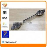 fast delivery have mould zinc alloy small silver stamped souvenir coin pattern spoon