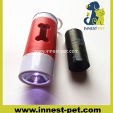 Pet cleaning product LED dog poop waste bag holder