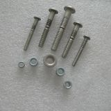 Stainless steel lock pins and lock collar