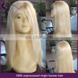 Best quality human hair lace front wig with baby hair matural real hiar wigs