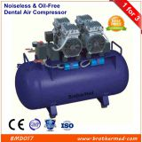 Noiseless & Oil-Free Dental Air Compressor 1 for 3