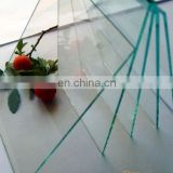 1mm,1.3mm,1.8mm clear sheet glass price with CE&ISO& BV