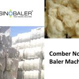 Comber Noil Baler / Comber Noil Baling Press Machine