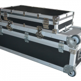 Industrial Grade Latches Large Aluminium Flight Case Heavy Duty