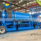 Africa used Gold Trommel mini Placer gold processing plant