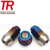 Colorful Titanium Nuts for motor parts