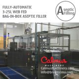 Fully-automatic UHT Milk Packaging Equipment Bag in Box Aseptic Filler