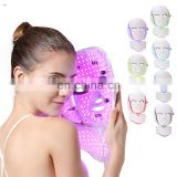 Professional 7 Colors Led Phototherapy Beauty Mask PDT Led Facial Machine Light Up Therapy Led