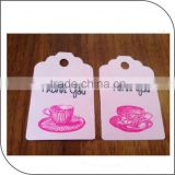 custom name tag for clothes,thank you hang tags,school bag tags in china