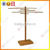 Double side bamboo belt display rack