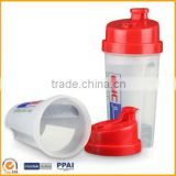 Bpa Free Plastic Protein Blender Shaker Cup