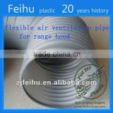 China high quality PVC Flexible ventilation hose pipe Clothes Dryer Parts duct fan for fresh air ventilation