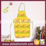 Household Waterproof Anti oil cartoon graphic disposable plastic kitchen apron
