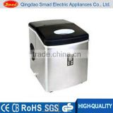 stainless steel mini ice maker with LCD display CE/UL/ETL/GS approved