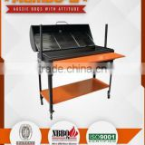 Quatro series Charcoal BBQ grill smoker rotisserie 4 IN 1 quality product 2mm thick steel Australian design