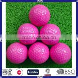 bulk all kinds of printed packing low carbon golf ball