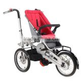Aluminum 6061 taga bike baby stroller with Shimano gear hub Mom Baby/infant/child/children Stroller Bike/Bicycle