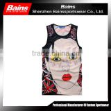 Custom cheap basketball tank top wholesale&basketball singlet