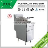Standing gas deep fryer