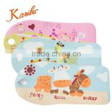 PM3327 2016 Karibu Safety Baby Foldable Anti-slip Cartoon Soft Changing Sponge Bath Mat Promotion for Gift
