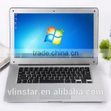 "China factory wholesale /retail brand new intel celeron 14"" inch 1.3 million pixels camera high resolution cheap laptop"