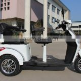 EEC APPROVED double seats for handicapped disabled and old person electric tricycle and 3 wheels electric scooter                                                                         Quality Choice