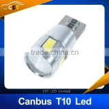 T10 led bulb 194 192 W5W 5630 5730 LED 6 SMD CANBUS ERROR FREE Car Auto Side Wedge Turn Light Bulb DC12V FreeShipping