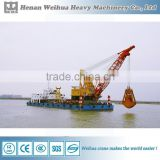 Sand Excavating Bucket Dredger Ship