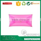 Alibaba supply clear snap button pvc plastic bag