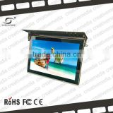 22 inch bus lcd media advertising display 3g android smart box video digital signage panel lcd bus ad monitor