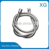 flexible extension stainless steel shower hose/EPDM braided anti-explosion inner tube shower hose/Leak protect shower hose