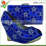 alibaba china wholesale royal blue purses handbags italian shoes and bag set