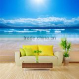 Non woven 3d beautiful home interior wall covering paper