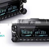 military quality dual band vhf uhf fm mobile radio transceiver, two way radio repeater for car