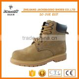 Barton buffalo leather steel toe PU injection industrial shoes working shoes safty shoes