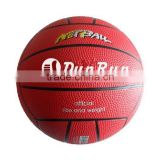 Nature rubber netball, big tennis ball, colorful netball
