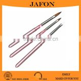 Acrylic Handle Sable Hair Rhinestone Nail Art Brush