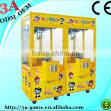 Coin Operated Arcade Gift Prize Crane Claw Game Machine for Kids