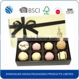Best design empty food grade chocolate strawberry paper packaging box wholesale