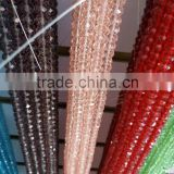 Wholesale multi color 8mm glass crystal beads strands for wedding decoration                                                                         Quality Choice